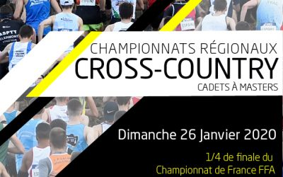 1/4 Finale Championnat de France CROSS-COUNTRY